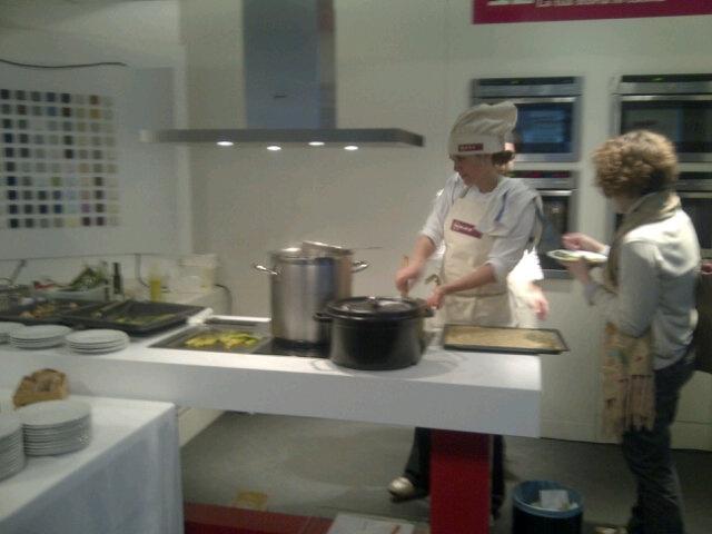 FuoriSalone at designElementi (Milan) Chef Alice Delcourt Erba Brusca