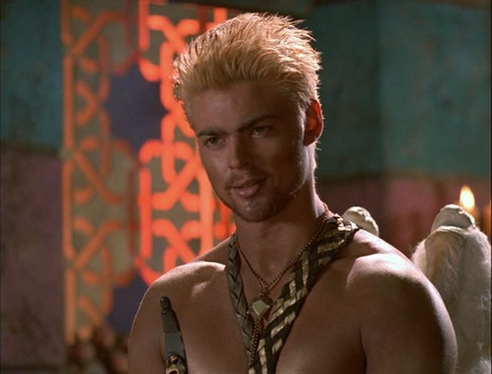 Karl Urban as Cupid. Hercules: The Legendary Journeys and ...