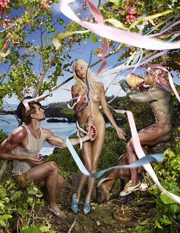 The Birth of Venus de l'artiste David LaChapelle