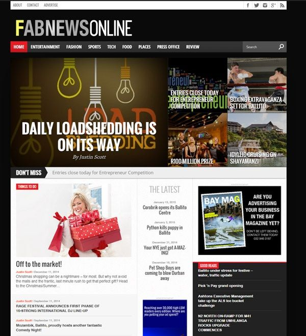 FabMags launches fifth online news site, FabNews Online