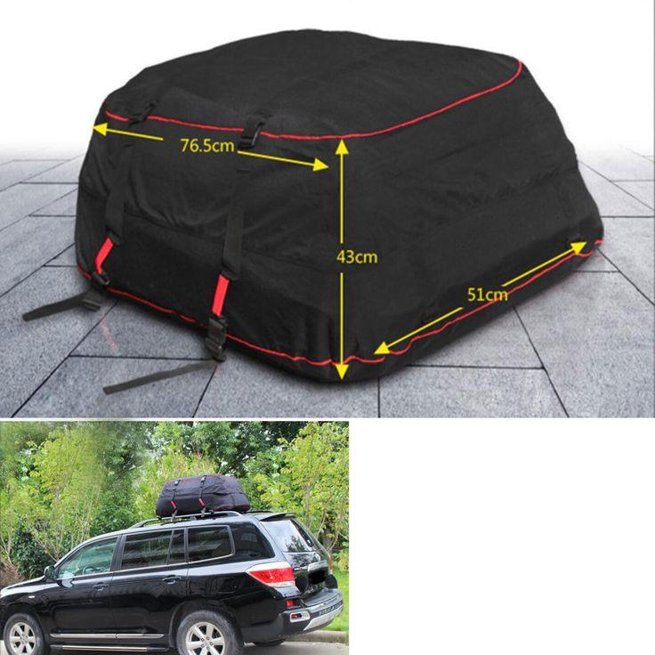 Барбекю @ fuka Водонепроницаемый на крыше перевозчика грузов сумка стеллаж для хранения багажа Автомобиль на крыше путешествий подходит для ...