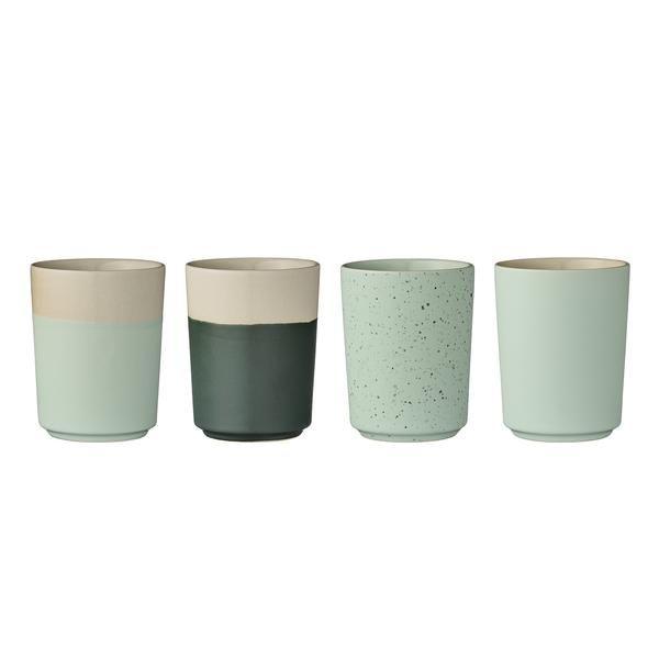Ceramic Mug Set Green | Ditte Maigaard Studio