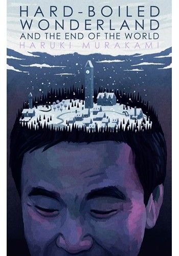 Alternative Book Cover for Hard-Boiled Wonderland and the End of the World by Haruki Murakami. Spot on!