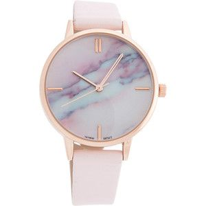 Samoe Marble Face Watch - Blush - Women's Watches
