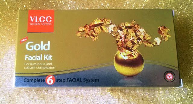 Beauty & Beyond: VLCC Gold Facial Kit Review & Price