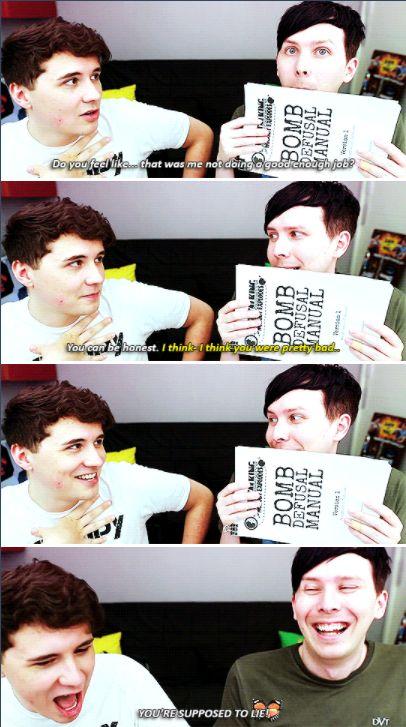 Dan and Phil Games