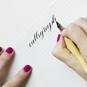 ONLINE CALLIGRAPHY COURSE In this online course you will learn the basic principles of Copperplate Calligraphy and the pointed pen. You will...
