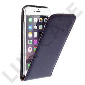 Nansen (Lila) iPhone 6 Läder Fodral