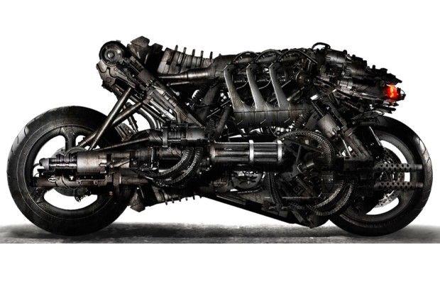 Ducati Hypermotard 1100 personalizada – Terminator: Salvation
