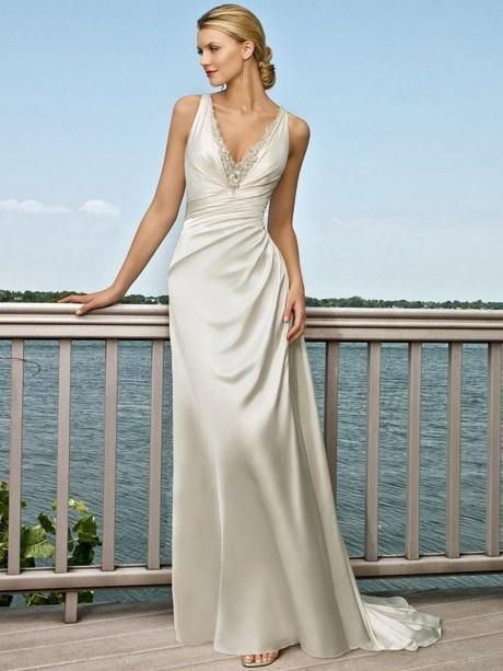 Elegant Mermaid Wedding Gown With Keyhole Back De173