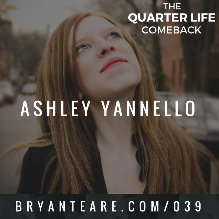 In this episode of The Quarter Life Comeback podcast, I chat to Ashley Taylor Yannello about bouncing back from failures, trusting our gut & how to be real and raw.  Get the full show notes at http://bryanteare.com/failures-lessons-ashley-yannello