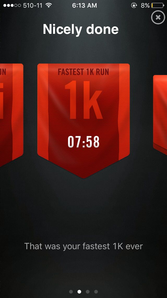 Second run. Tomorrow would be better than today.