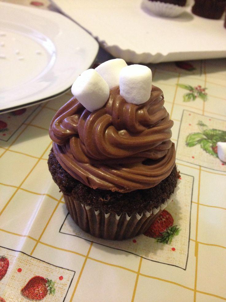Cupcake ai 3 cioccolati