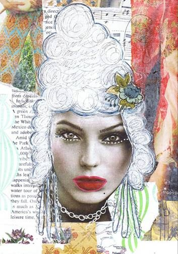marie antoinette atc - looking for artist: Mag Photo