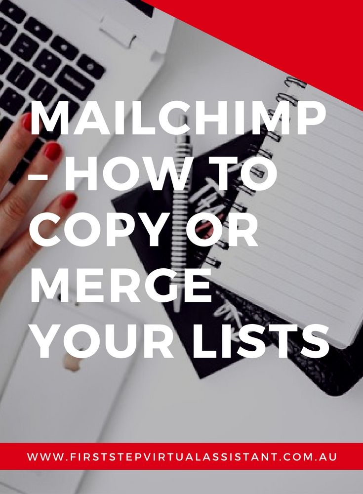 MailChimp | MailChimp How To Copy or Merge your Lists | MailChimp Lists