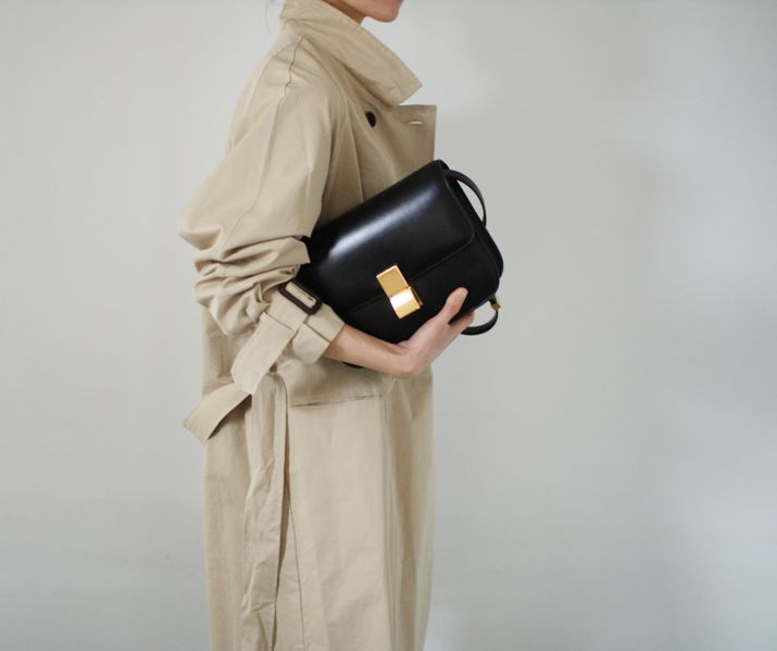 "death-by-elocution: "" Trench coats & Celine bags "":"