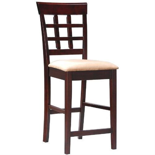 set of 2 counter height kitchen dining bar stool chairs