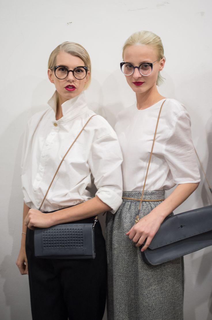 Shirt and bags CAPELLI GRIGI