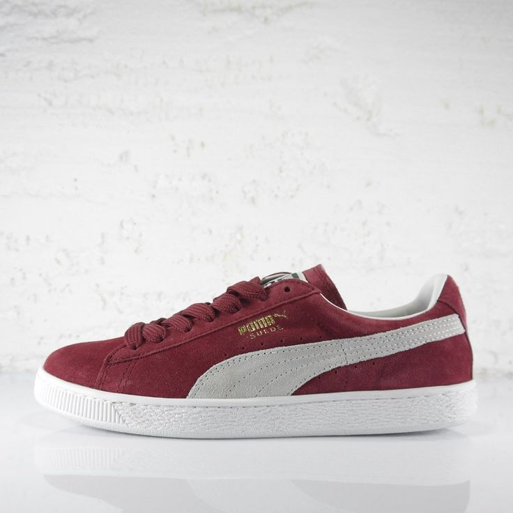 "Puma Suede Classic+""Cabernet"". Get it -10% using coupon ""suederats"". www.ministryofconcrete.com"