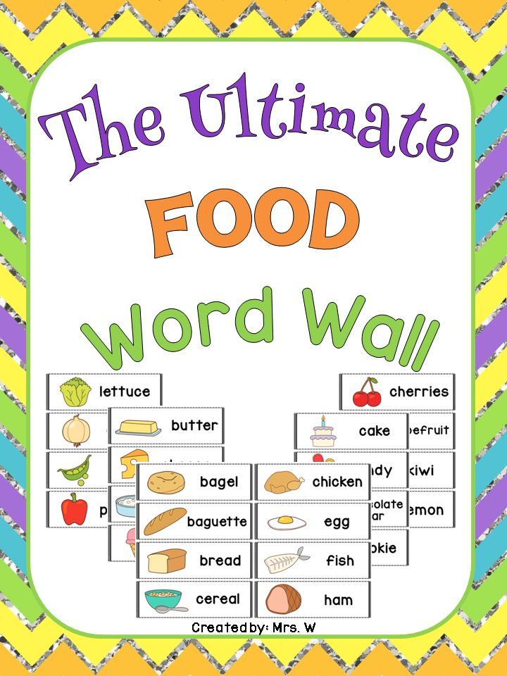 Word Wall Ideas For Preschool : Images about preschool words on pocket