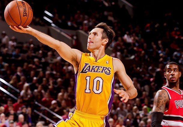 My favourite player...ladies and gentleman Steve Nash!