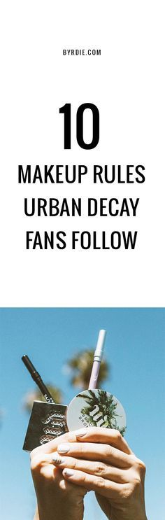 How to be an Urban D - http://ezbeautytips.com/1/how-to-be-an-urban-d/  https://valtimus.avonrepresentative.com/ How to be an Urban Decay fan Tips & Tricks