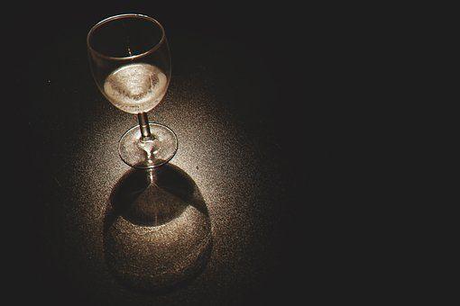 Close-Up, Bebidas, Copo De Vinho