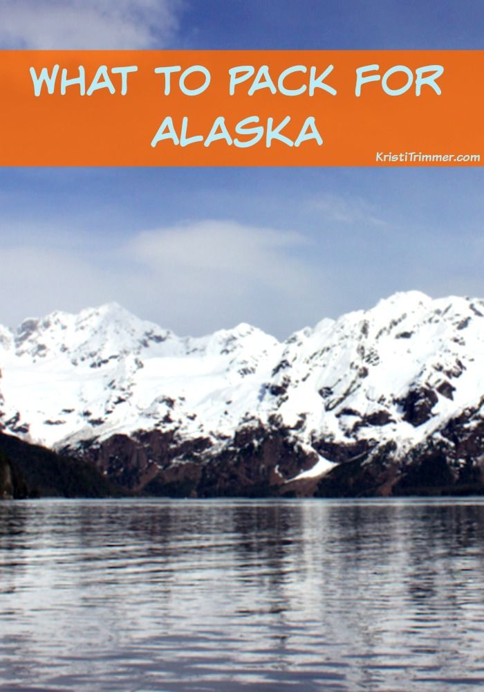 What to Pack for Alaska... a comprehensive list including just how many shoes you need!