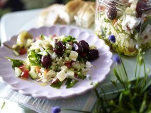 Griechischer Orzo-Salat Rezept