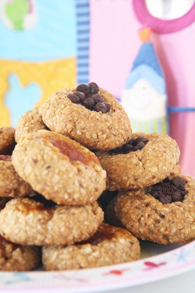 Μπισκότα με αμύγδαλα & ελαιόλαδο (αντί για μέλι βάζουμε φυτικό γλυκαντικό)