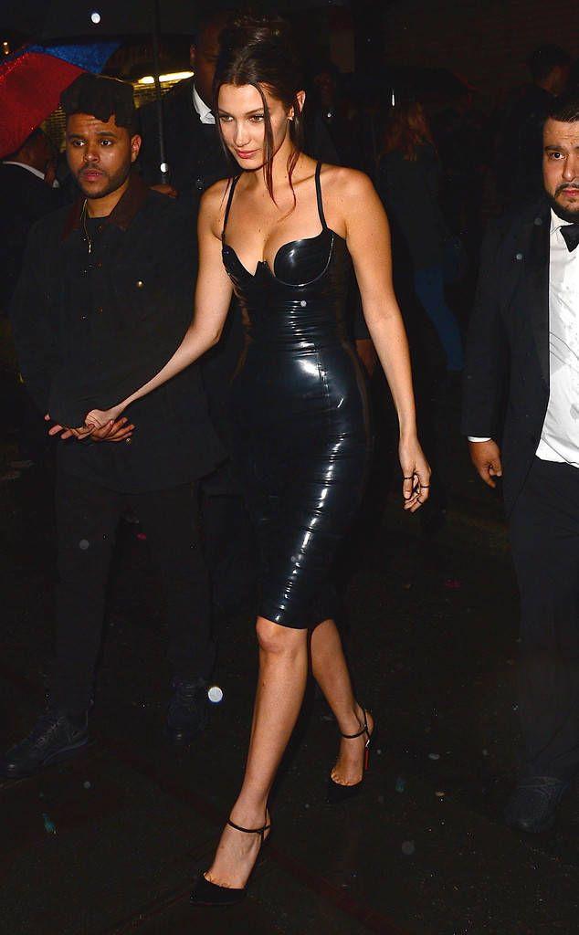 Lovely in Latex: Bella Hadid's Best Looks