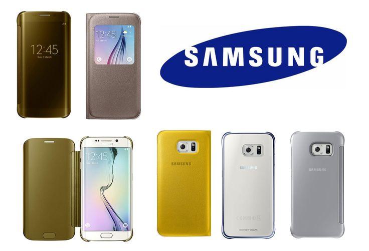 Originale #Samsung #GalaxyS6 og #GalaxyS6Edge vesker og deksler