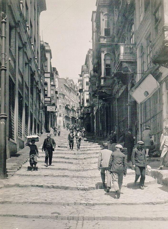 Yüksekkaldırım (Yıl?. Karaköy) #Beyoğlu #istanbul