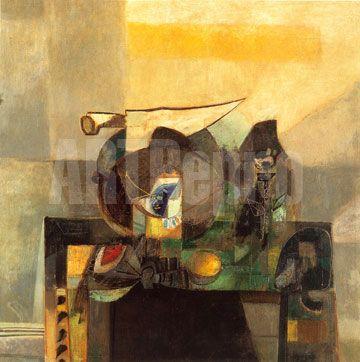 alejandro obregon paintings -Naturaleza Muerta