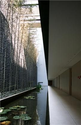 Kerry hill  Cantilever corridor overhang without columns