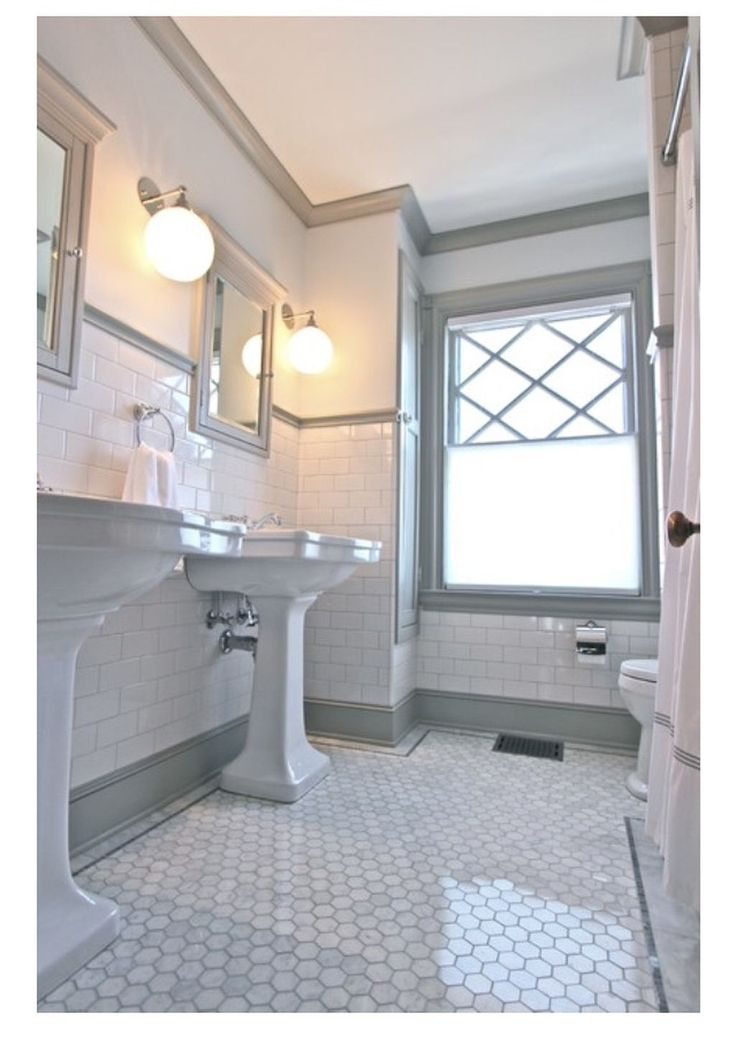 Incredibly Subway Tiles Bathroom Ideas With White Cabinets 14