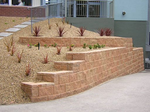 Retaining Wall Block With Pins : Best retaining wall block prices ideas on