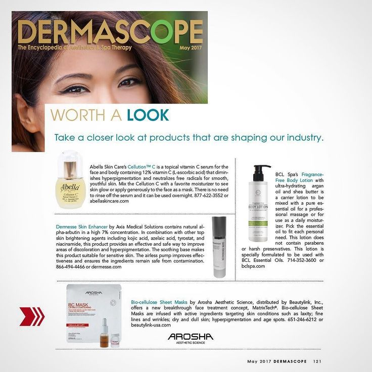 Excited to be featured in May's edition of Dermascope Magazine with our AROSHA FACE SOLUTION: Professional treatments & retail Bio-cellulose Face masks featuring our patented bio-complex concept Matrixtech. A Breakthrough delivery system enabling for micro penetration of strategically selected active ingredients through multiple layers of the epidermis to help stimulate the synthesis of collagen and elastin.  THANKS @dermascope  #press #dermascope #magazine #dayspa #beautysalon…
