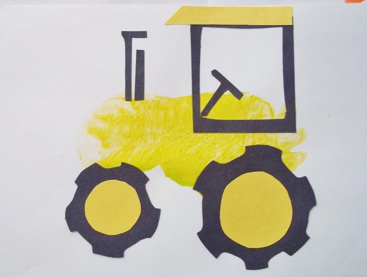 Tractor footprint
