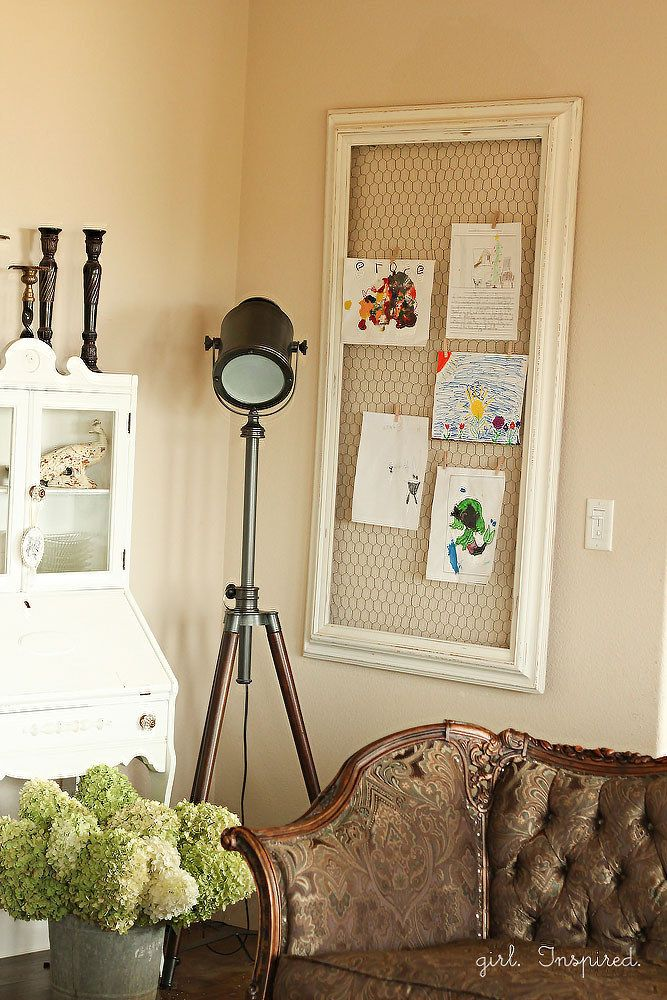 23 Beautiful Ways To Display Your Kids' Artwork