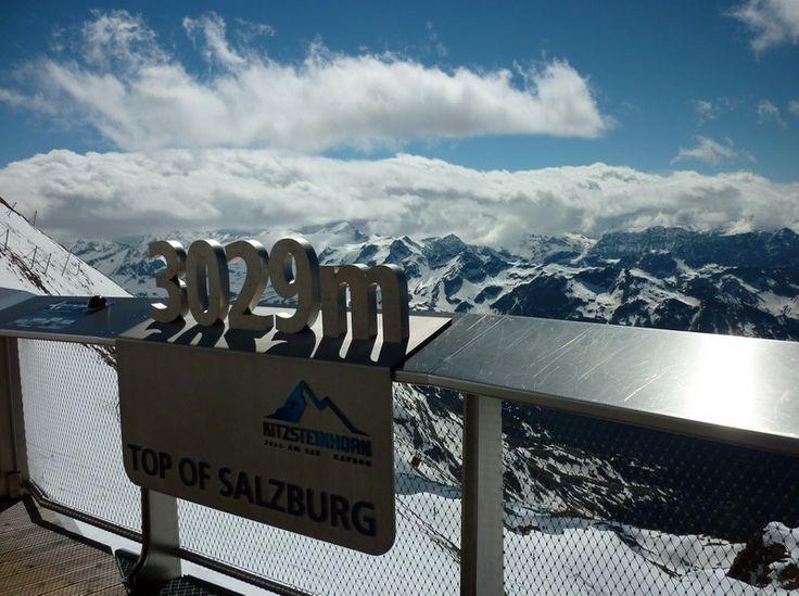 Top of Salzburg - Panoráma 3029 méteren