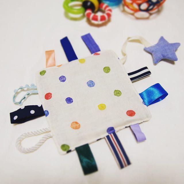 カシャカシャおもちゃの一例,赤ちゃんおもちゃ,手作り,フェルト