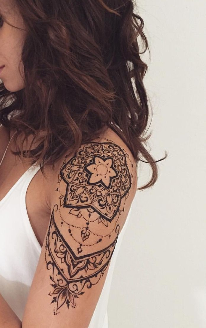 Arm frauen mandala tattoos 30+ Best