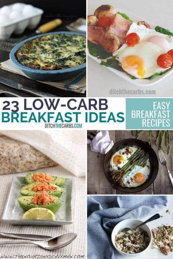 23 Easy Low Carb Breakfast Ideas Low Carb Breakfast Easy