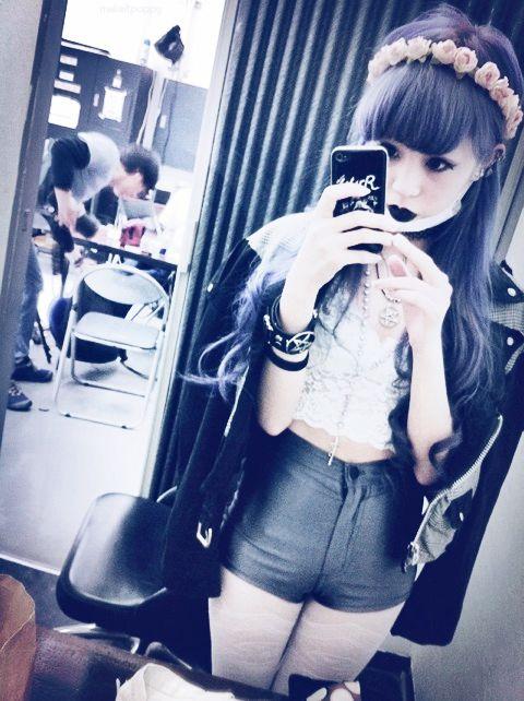 Pastel goth fashion