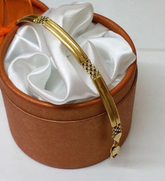 Vintage Armschmuck - Gliederarmband Gold 750 Armband Vintage alt GA112 - ein Designerstück von Atelier-Regina bei DaWanda