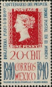 """""""Penny Black"""" of 1840"""
