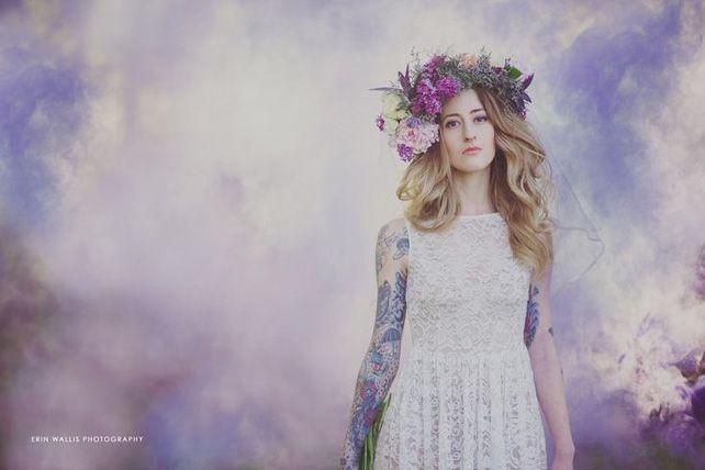 Свадебный тренд: цветные дымовые шашки - The-wedding.ru