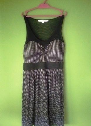 Kup mój przedmiot na #vintedpl http://www.vinted.pl/damska-odziez/krotkie-sukienki/13248665-zwiewna-sukienka-w-kropeczki-z-siateczka-xs-tally-weijl
