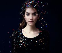 Inspiring image beautiful, beauty, confetti, girl, glitter, gorgeous, hair, holiday, photography, portrait, pretty, valeska, valeska steiner #359649 - Resolution 500x500px - Find the image to your taste